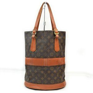 Authentic Louis Vuitton French Company bucket GM